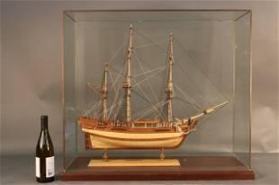 Planked Ship Model of HMS Bounty