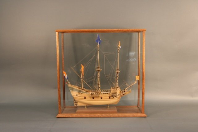 Planked Model of Henry Hudson's Half Moon