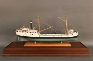 Ship Model of a Great Lakes Lumber Ship