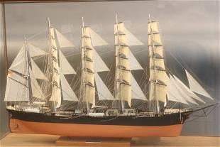 Ship Model of Barque Kobenhaven