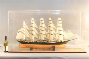 Ship Model of German Barque Preussen