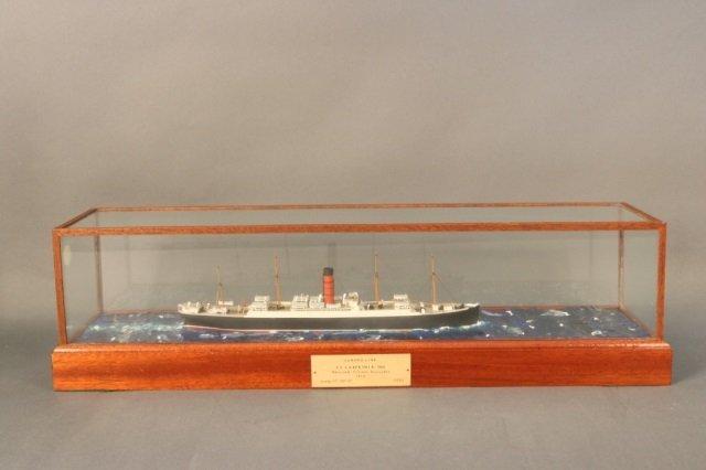 Cunard Line steamship SS Carpathia Model