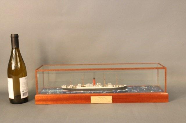 Cunard Line steamship SS Carpathia Model - 3