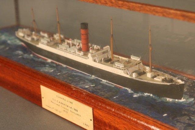 Cunard Line steamship SS Carpathia Model - 4