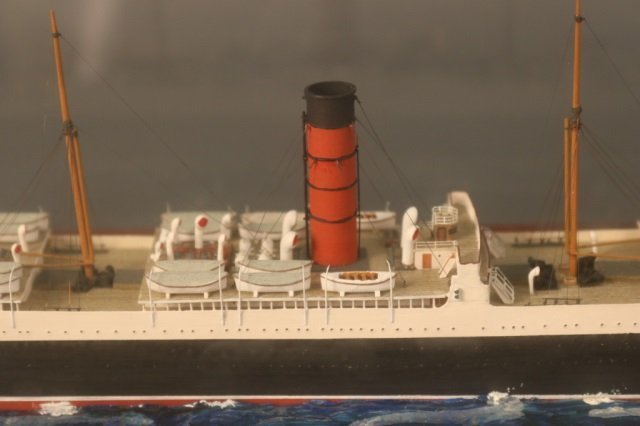 Cunard Line steamship SS Carpathia Model - 6