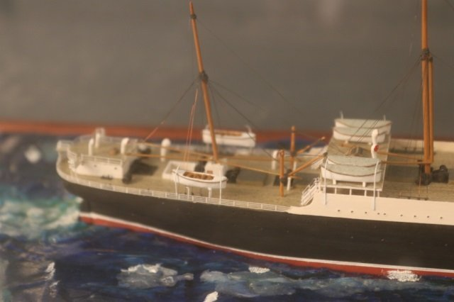Cunard Line steamship SS Carpathia Model - 7