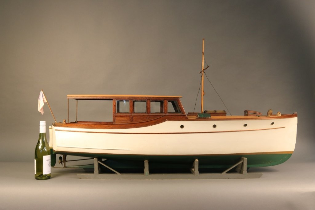 Early 20th Century Yacht Builder's Model