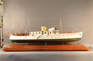 "Vosper Yacht Builder's Model of Motor Yacht ""Ceto"""