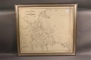 "Original Eldridge Chart ""H"" of Boston Harbor"