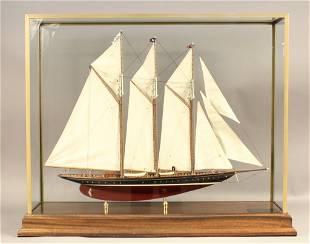 """Model of 1903 Schooner """"Atlantic"""""""