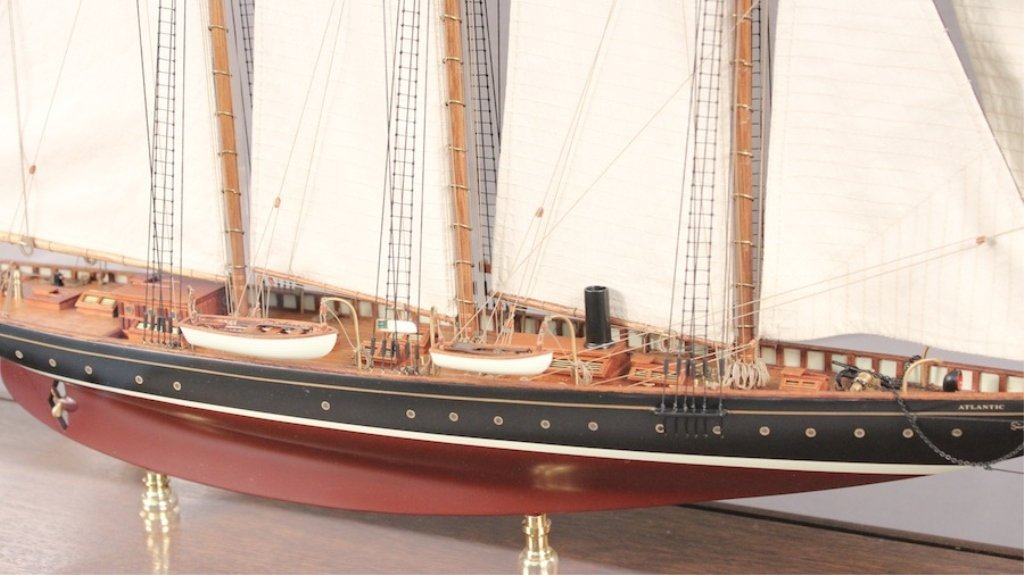"""Model of 1903 Schooner """"Atlantic"""" - 3"""