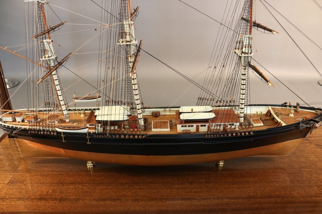 "Famous Clipper Ship Model ""Flying Cloud"", 1851 - 4"
