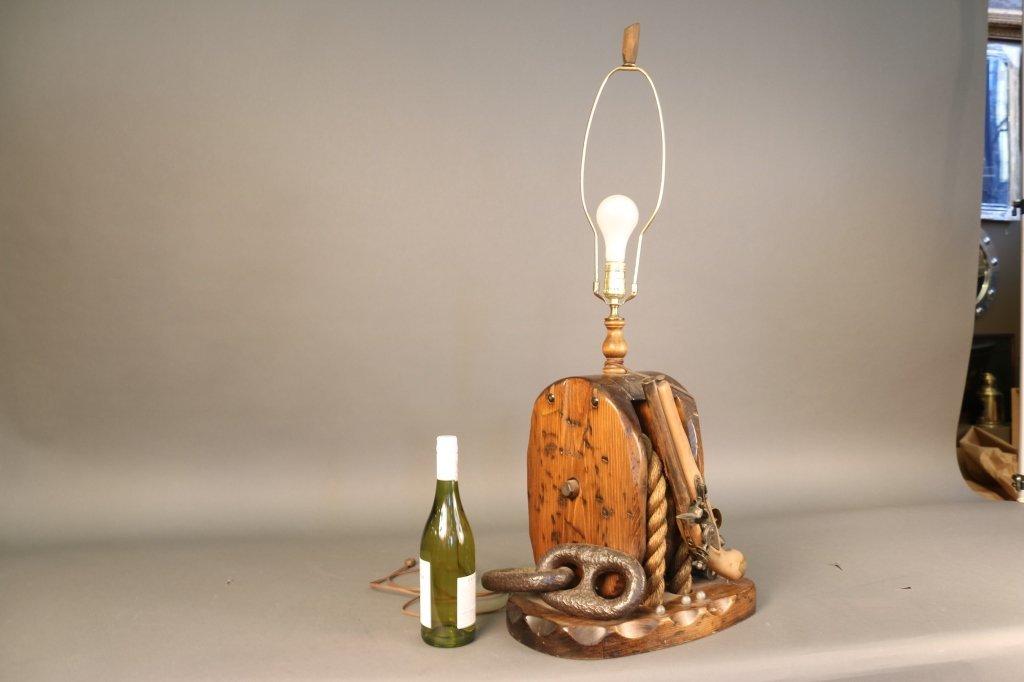 Block and Tackle Lamp - 3