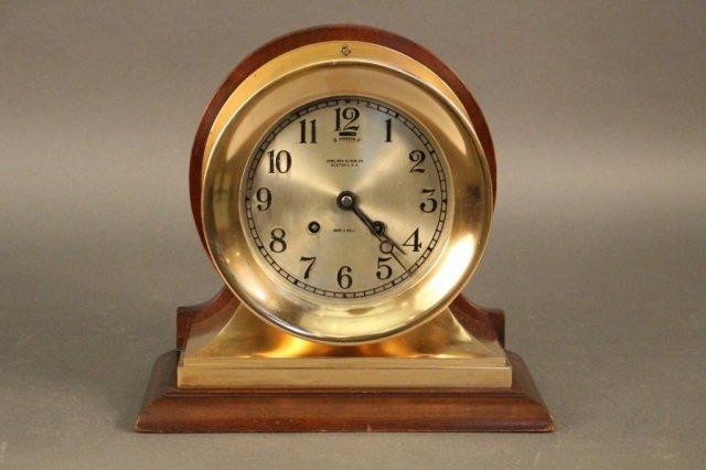 Large Chelsea Ship's Clock
