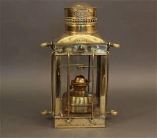 British Ship's Lantern by Davey & Co.