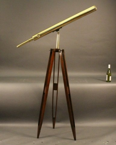 French Library Telescope on Tripod