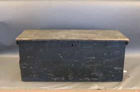 19th Century Sea Chest With Beckets