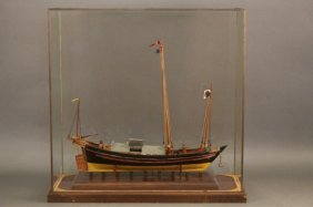 Scale Model Of A Chinese Trading Vessel