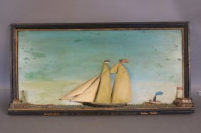 Nineteenth-century Cape Cod Ship Model
