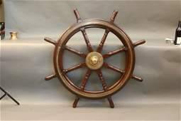 Eight Spoke Ships Wheel