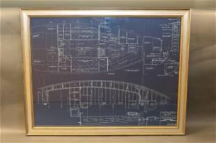 Original John Alden Yacht Blueprint