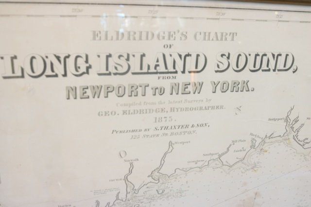 Eldridges chart of Long Island Sound - 3