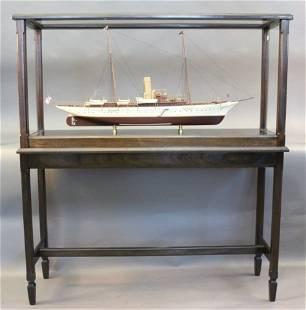 "Steam Yacht Model of ""North Star"""
