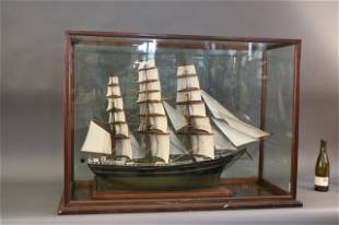 Antique Model of a Windjammer