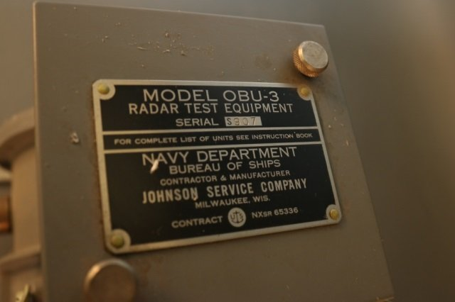 US Navy Radar Testing Unit - 2