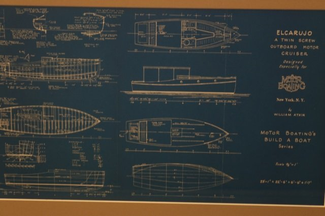 Two William Atkin Yacht Blueprints - 4