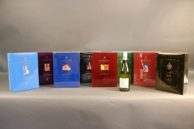Rare,Unopened 8 Bottle Erte Courvoisier Collection - 10