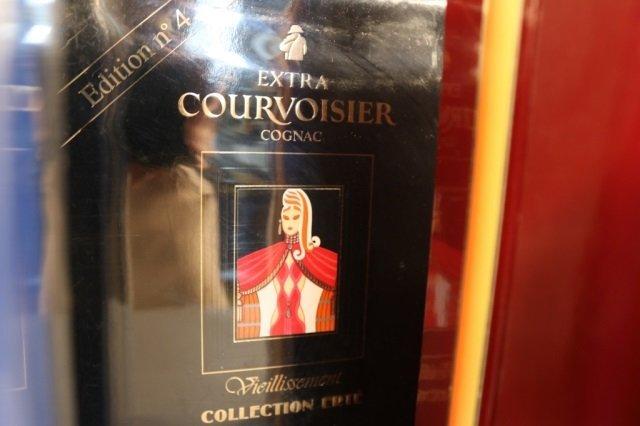 Rare,Unopened 8 Bottle Erte Courvoisier Collection - 5