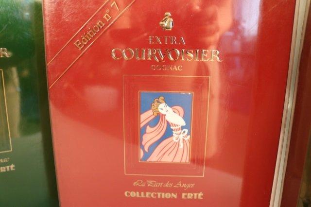 Rare,Unopened 8 Bottle Erte Courvoisier Collection - 8