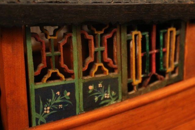 Antique Chinese Sampan Model - 4