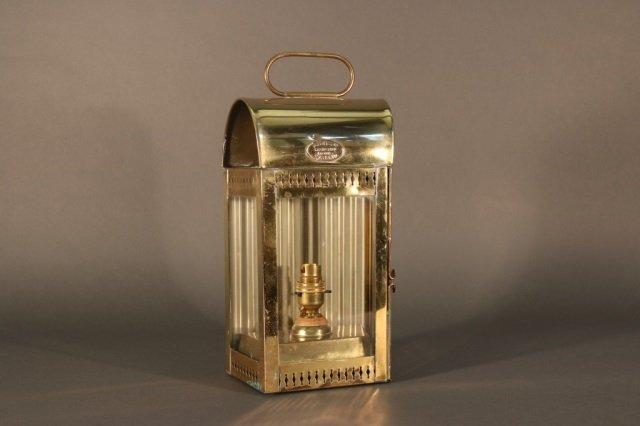 Davey & Co. Brass Yacht Lantern