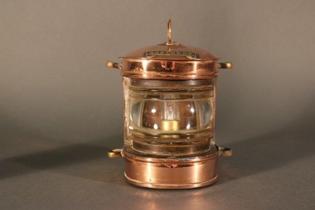 Solid Copper Ship's Masthead Lantern