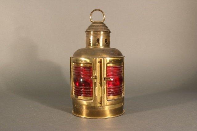 Solid Brass Yacht Lantern