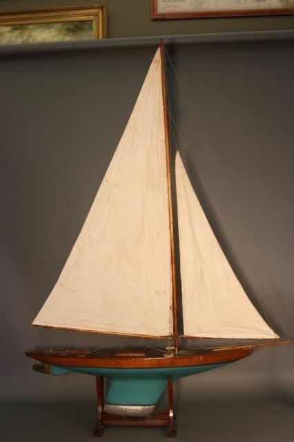 Vintage Pond Yacht Model