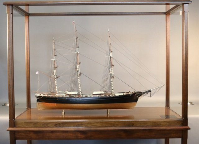 Model of the Clipper Ship Flying Cloud