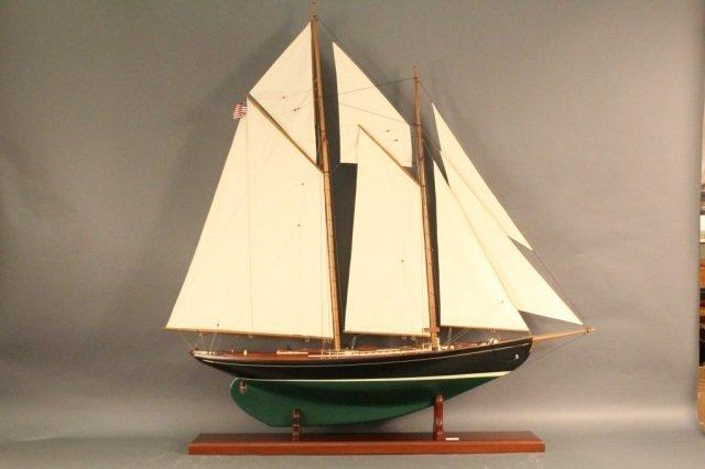 John Alden's Model of the Schooner Malabar X