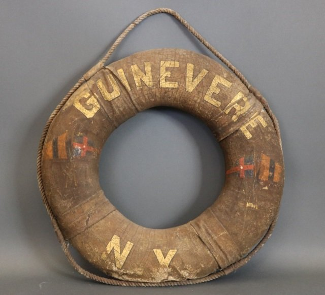 """Yacht """"Guinevere"""" Life Ring"""