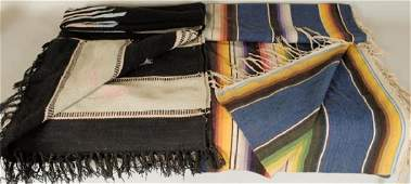 2 Native American Style Blankets or Rugs