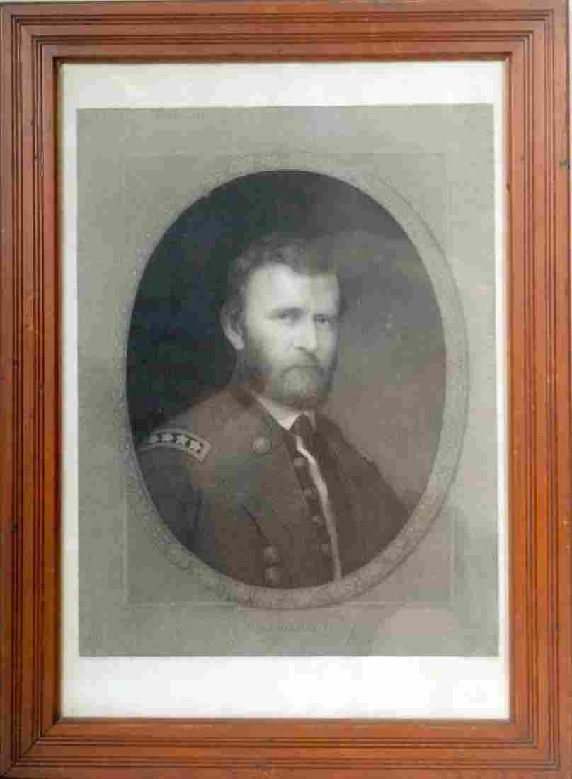 Gen. Grant Engraving by William E. Marshall