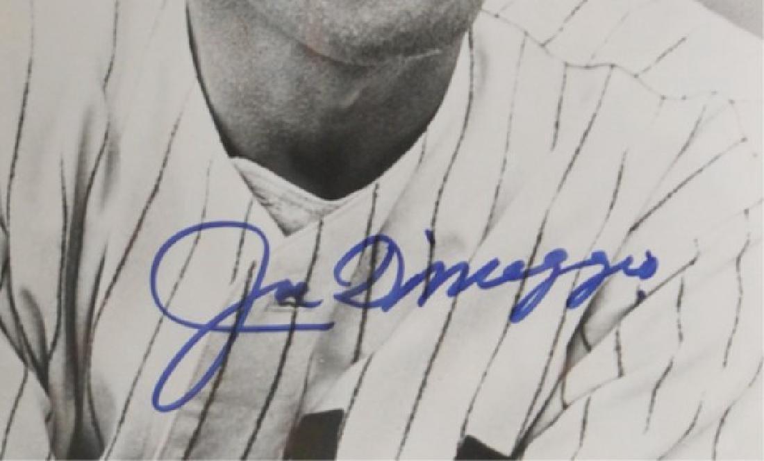 Joe DiMaggio Autographed Photo - 3