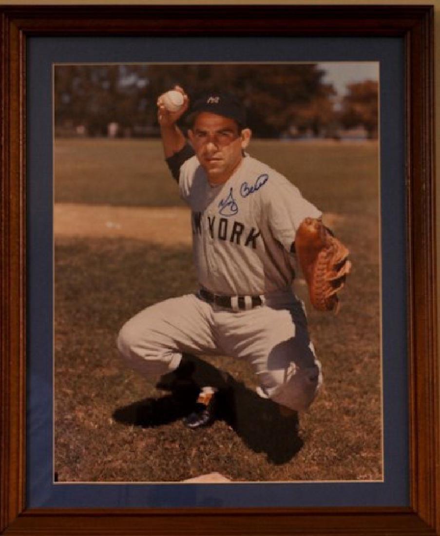 Yogi Berra Autographed Photo - 2