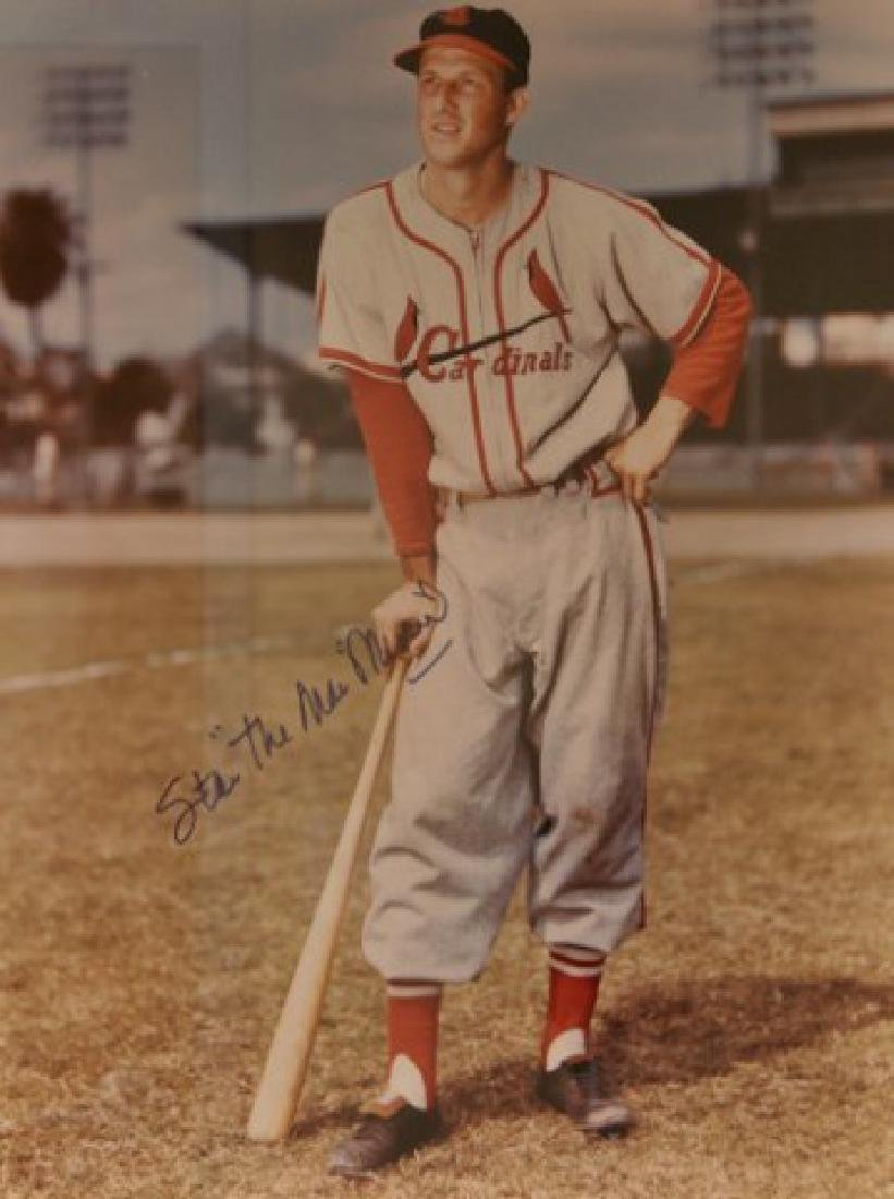 Stan Musial Autographed Photo - 2