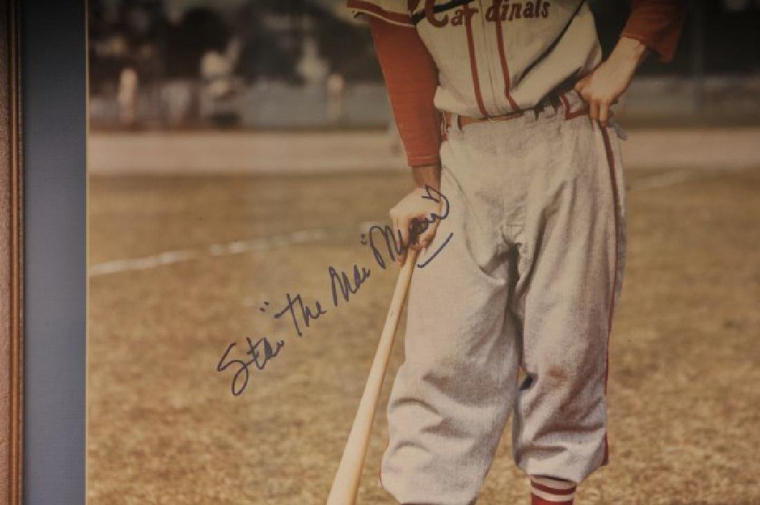 Stan Musial Autographed Photo - 3