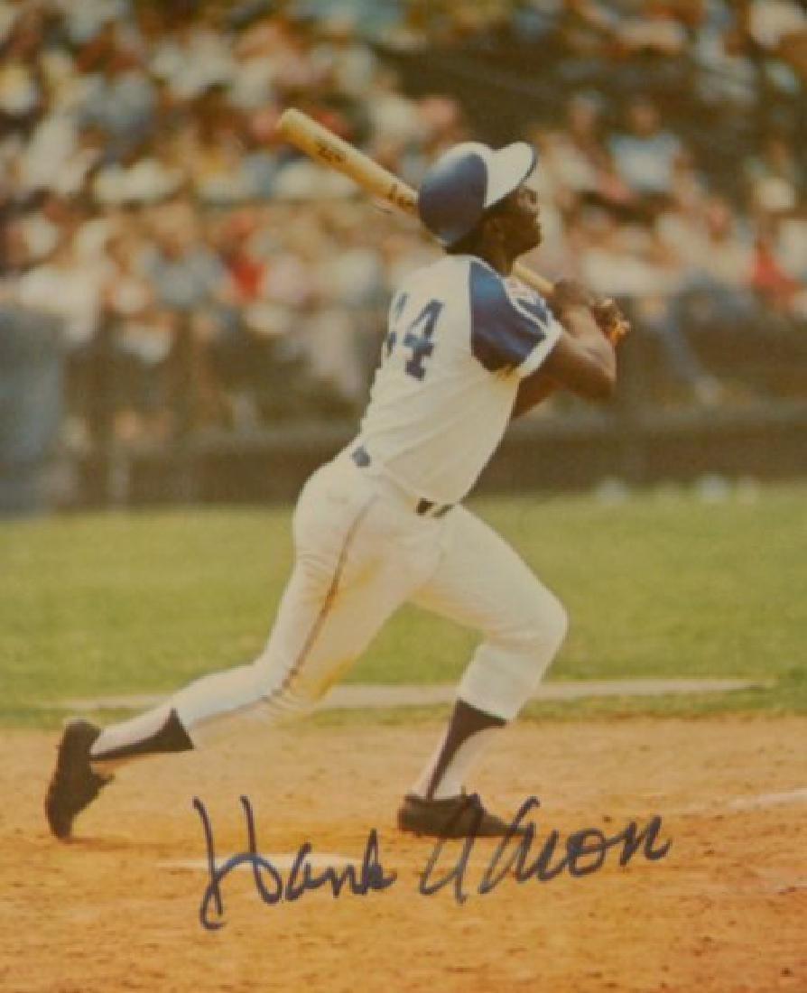 Hank Aaron & World Series Ticket - 3