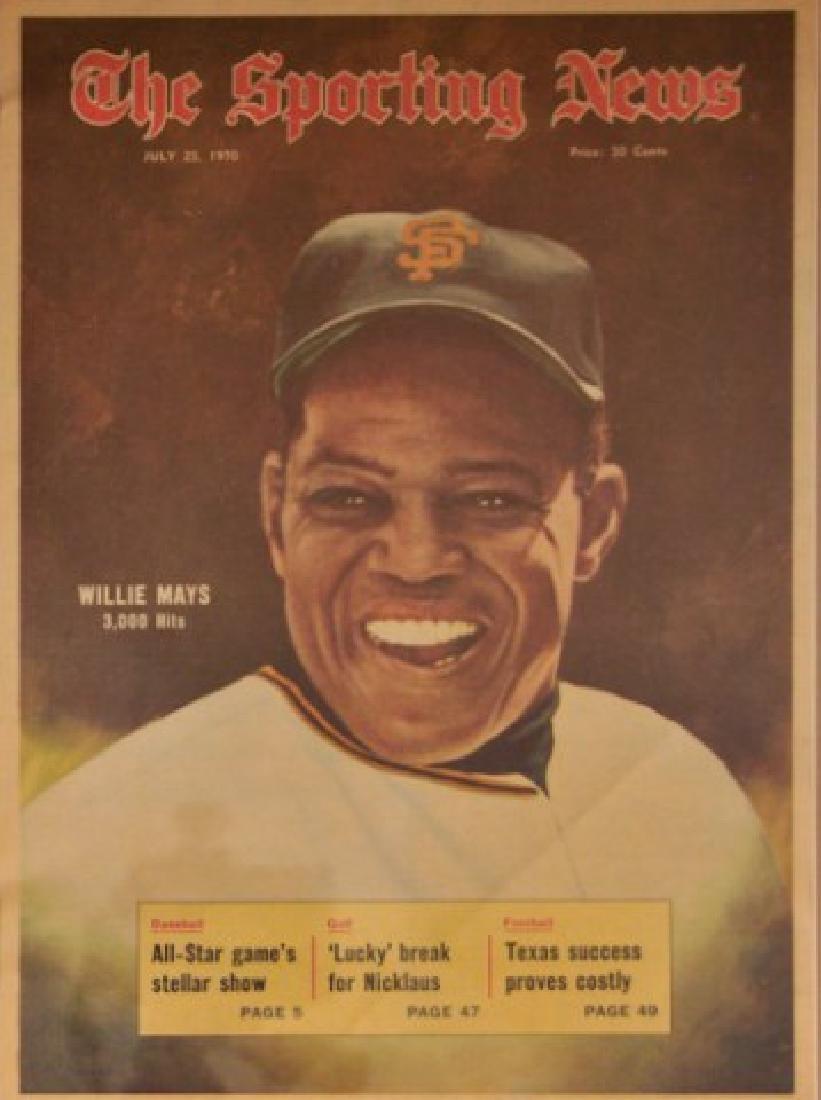 Willie Mays Artist Print - 3