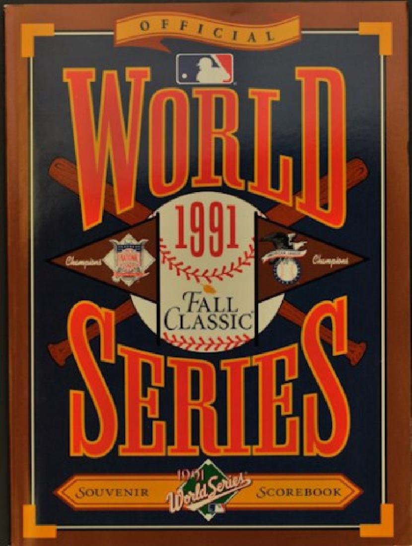 1991 World Series Scorebook/Program